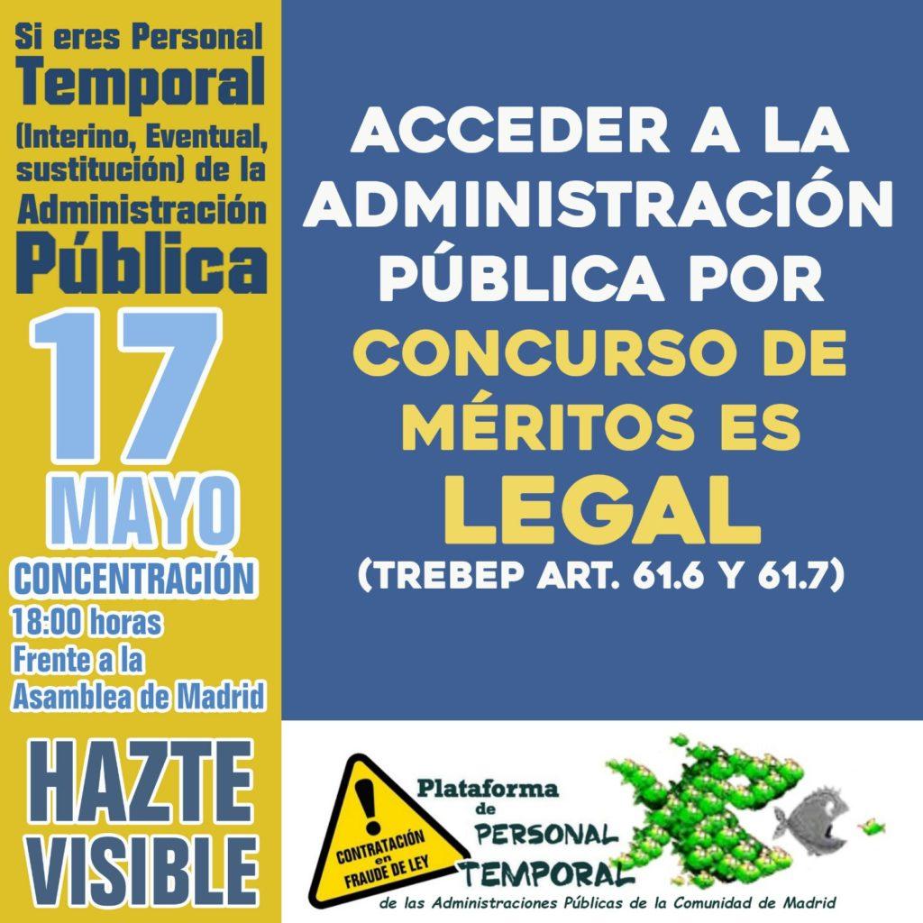 Concentración 17 de Mayo 2